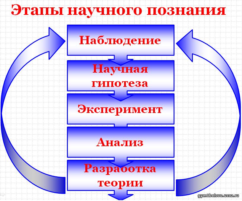этапы и условия познания